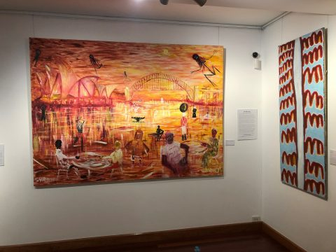 Sydney Harbour, An Aboriginal Perspective (c) Gordon Syron