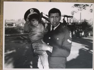 Herb Smith Aboriginal Policeman & Vernon Chilly early 80s