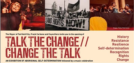 Talk the change change the talk flyer