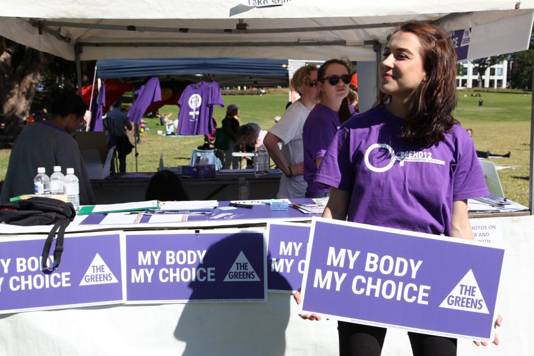 My body my choice (c) Elaine Pelot Syron
