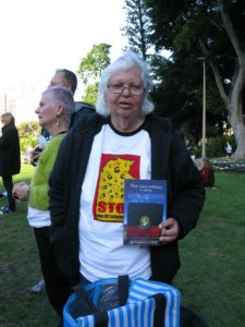 Deni Langman 2017 10th Anniversary Against the NT Invasion (c) Elaine Pelot Syron