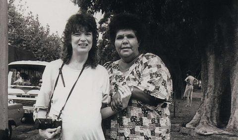 Elaine and Mum Shirl (c) Elaine Pelot Syron